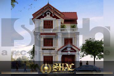 BÌA mẫu kiến trúc biệt thự pháp đẹp tại hải phòng sh btp 0031