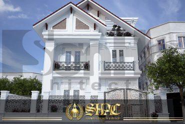 BÌA thiết kế kiến trúc biệt thự tân cổ điển pháp tại hải phòng sh btcd 0029