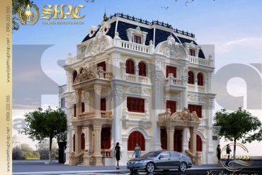 1 Thiết kế ảnh kiến trúc biệt thự pháp đẹp tại quảng ninh sh btp 0033