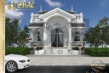 1 Thiết kế kiến trúc biệt thự tân cổ điển tại hà nội sh btcd 0033