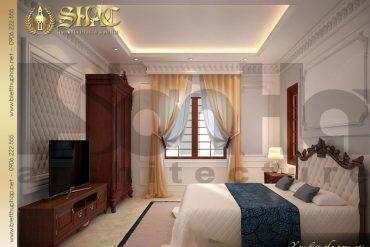 10 Mẫu nội thất phòng ngủ khách biệt thự pháp đẹp tại quảng ninh sh btp 0034