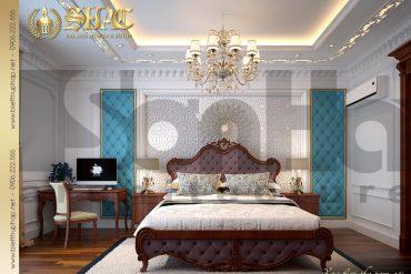 11 Thiết kế nội thất phòng ngủ 2 biệt thự pháp đẹp tại quảng ninh sh btp 0034