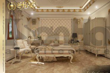 11 Thiết kế nội thất phòng ngủ 4 biệt thự pháp đẹp tại quảng ninh sh btp 0033