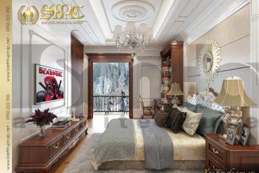 13 Thiết kế nội thất phòng ngủ 3 biệt thự pháp đẹp tại quảng ninh sh btp 0034