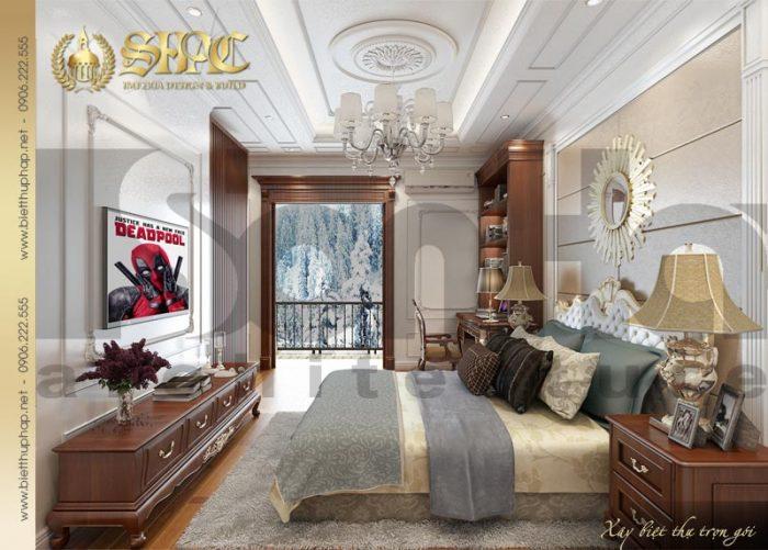 Thêm một thiết kế được yêu thích của ngôi biệt thự 3 tầng kiểu pháp