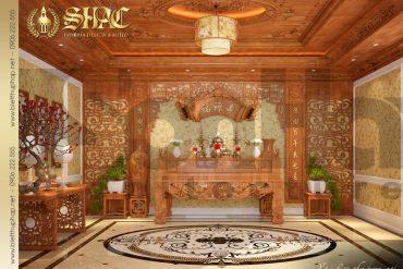 16 Mẫu nội thất phòng thờ biệt thự pháp cổ tại quảng ninh sh btp 0033