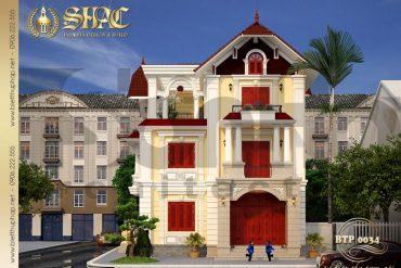3 Thiết kế kiến trúc biệt thự pháp đẹp tại quảng ninh sh btp 0034