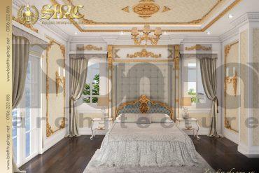 7 Thiết kế nội thất phòng ngủ biệt thự tân cổ điển pháp tại hà nội sh btcd 0035