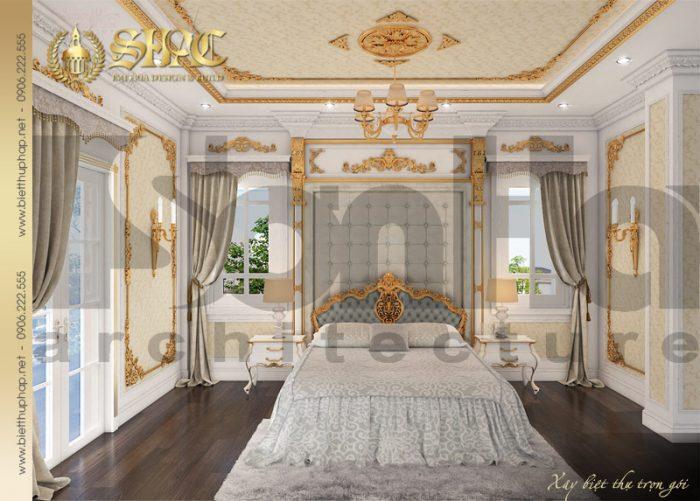 Nội thất phòng ngủ phong cách hoàn gia dễ dàng chinh phục mọi ánh nhìn người bất kỳ