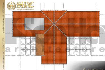 8 Mặt bằng công năng tầng mái biệt thự tân cổ điển pháp tại quảng ninh sh btcd 0034