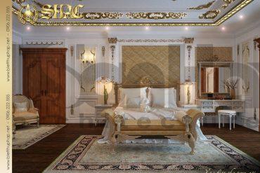 8 Mẫu nội thất phòng ngủ 1 biệt thự pháp đẹp tại quảng ninh sh btp 0033