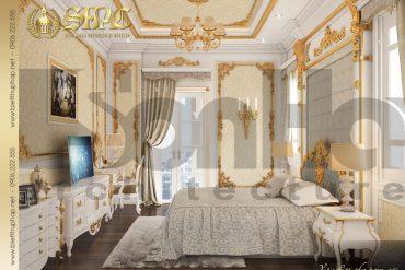 8 Mẫu nội thất phòng ngủ biệt thự tân cổ điển đẹp tại hà nội sh btcd 0035