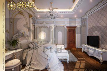 9 Thiết kế nội thất phòng ngủ 2 biệt thự pháp đẹp tại quảng ninh sh btp 0033