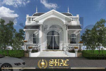 BÌA mẫu kiến trúc biệt thự tân cổ điển pháp tại hà nội sh btcd 0033