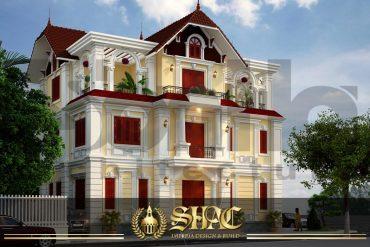 BÌA thiết kế kiến trúc biệt thự pháp tại quảng ninh sh btp 0034