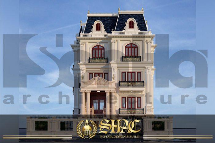 BÌA thiết kế kiến trúc biệt thự tân cổ điển tại sài gòn sh btcd 0032