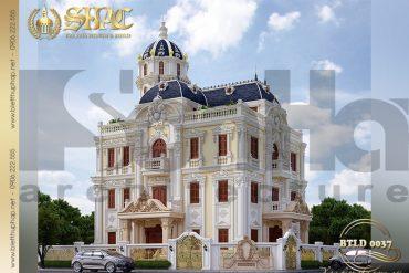 1 Thiết kế lâu đài kiến trúc pháp tại Hải Phòng SH BTLD 0037