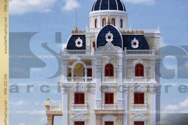 10 Mẫu thiết kế biệt thự lâu đài đẹp tại hải dương sh btld 0036