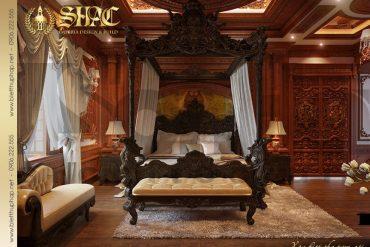 10 Mẫu thiết kế nội thất phòng ngủ lâu đài đẹp tại Hà Nội SH BTLD 0026