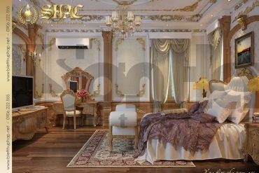 11 Mẫu phòng ngủ biệt thự kiểu lâu đài tại Nam Định SH BTLD 0026