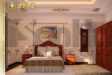 11 Mẫu phòng ngủ biệt thự lâu đài kiểu pháp tại An Giang SH BTLD 0031