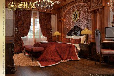11 Mẫu thiết kế nội thất phòng ngủ lâu đài đẹp tại Hà Nội SH BTLD 0026