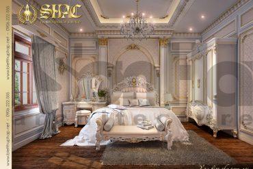 11 Thiết kế nội thất phòng ngủ biệt thự lâu đài tại Quảng Ninh SH BTLD 0029