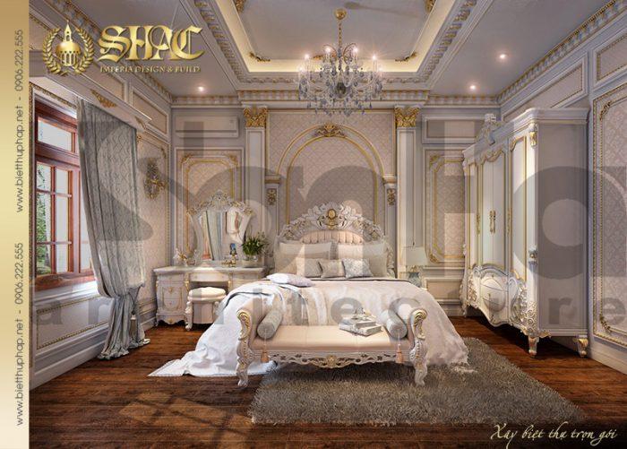 Mẫu phòng ngủ với lối thiết kế khoa học cùng không gian tiện nghi cho chủ nhân căn phòng