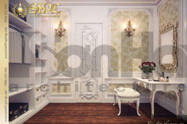 11 Thiết kế nội thất phòng thay đồ biệt thự lâu đài tại Trà Vinh SH BTLD 0021