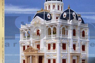 12 Mẫu biệt thự lâu đài cổ điển xa hoa tại hải dương sh btld 0036