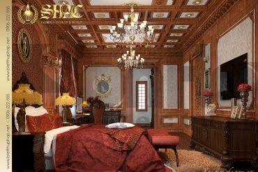 12 Mẫu thiết kế nội thất phòng ngủ lâu đài đẹp tại Hà Nội SH BTLD 0026