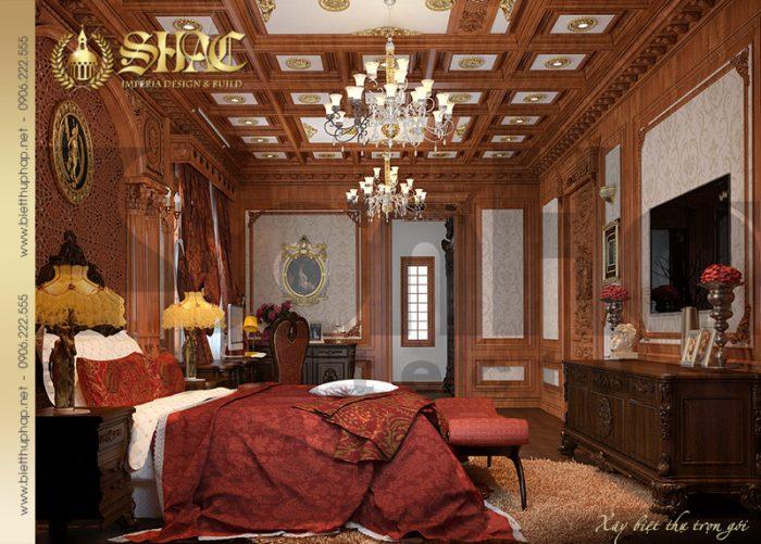 Tiếp tục khám phá không gian nội thất phòng ngủ đẳng cấp được đầu tư thiết kế tinh xảo
