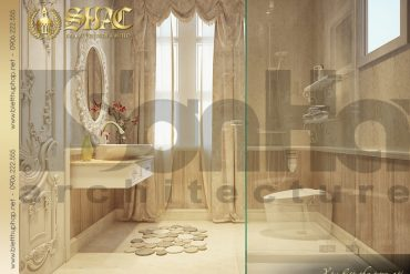 12 Thiết kế nội thất wc phòng ngủ biệt thự lâu đài cao cấp tại Trà Vinh SH BTLD 0021
