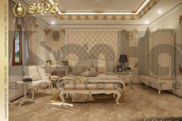 13 Thiết kế nội thất phòng ngủ biệt thự lâu đài tại Quảng Ninh SH BTLD 0029