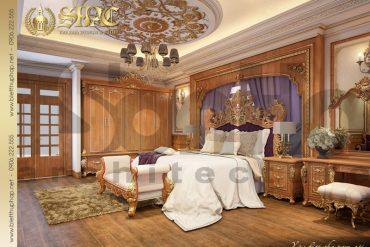 13 Thiết kế phòng ngủ biệt thự lâu đài tại Nam Định SH BTLD 0026