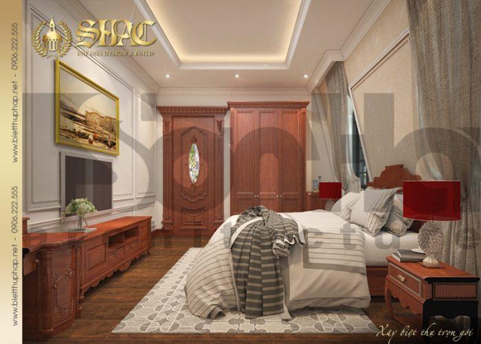 Thêm một ý tưởng thiết kế nội thất phòng ngủ dành cho biệt thự pháp tại Cần Thơ