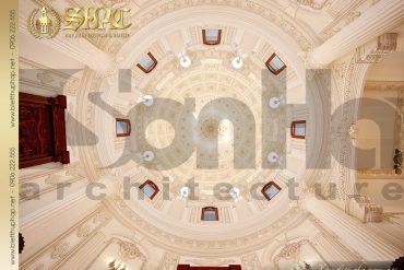 17 Mẫu thiết kế mái vòm lâu đài pháp tại Hà Nội SH BTLD 0026