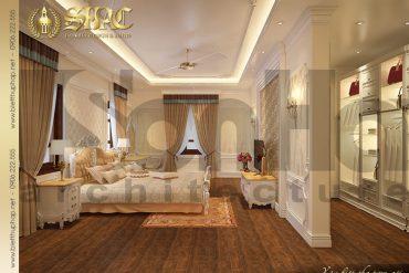 17 Mẫu thiết kế nội thất phòng ngủ 4 biệt thự lâu đài tại Hà Nội SH BTLD 0024