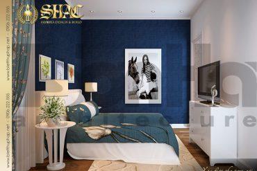 18 Mẫu nội thất phòng ngủ khách biệt thự lâu đài tại Trà Vinh SH BTLD 0021