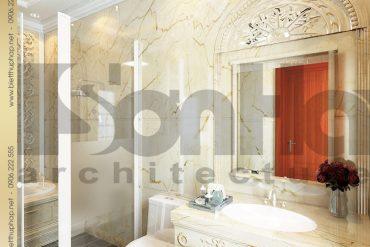 18 Mẫu thiết kế nội thất wc biệt thự lâu đài tại Hà Nội SH BTLD 0032