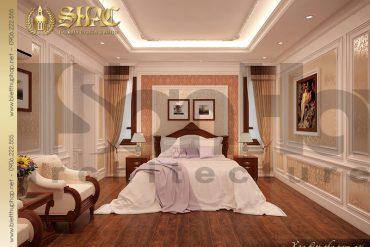 18 Thiết kế nội thất phòng ngủ 5 biệt thự lâu đài cổ điển tại Hà Nội SH BTLD 0024