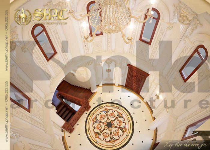 Thiết kế mái vòm ấn tượng đến từng tiểu tiết