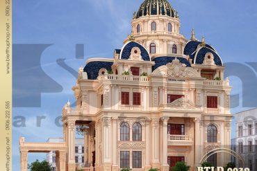 2 Kiến trúc lâu đài kiểu Pháp đẹp 2 mặt tiền sang trọng tại Sài GònSH BTLD 0039