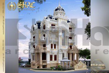 2 Mẫu biệt thự lâu đài kiểu pháp tại Sài Gòn SH BTLD 0035
