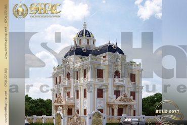 2 Mẫu thiết kế lâu đài đẹp tại Hải Phòng SH BTLD 0037
