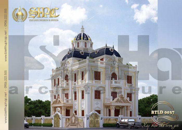 Khám phá kiến trúc mẫu biệt thự lâu đài kiểu châu Âu đẹp hút mắt tại Hải Phòng