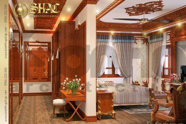20 Mẫu nội thất phòng ngủ 6 biệt thự lâu đài kiểu pháp tại Hà Nội SH BTLD 0024