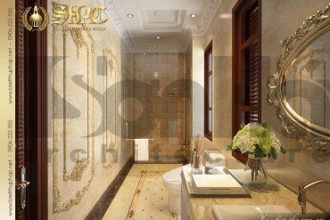 20 Mẫu thiết kế nội thất wc biệt thự lâu đài tại Hà Nội SH BTLD 0026