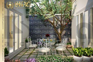 22 Thiết kế tiểu cảnh sân vườn biệt thự lâu đài tại Trà Vinh SH BTLD 0021