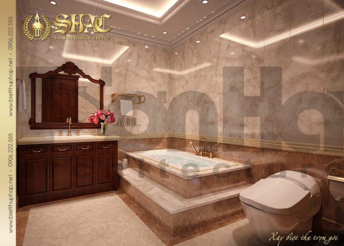 Thiết kế nội thất phòng tắm - WC đầy đủ tiện nghi